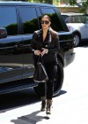 Kim Kardashian in black Beverly Hills
