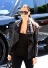 Kim Kardashian looks great in black-06