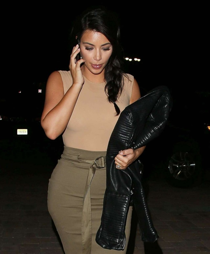 Kim Kardashian - Out and About in New York-02