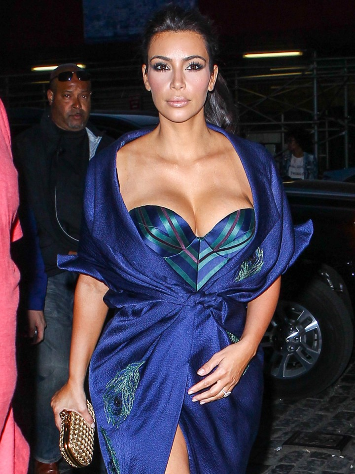Kim Kardashian Out in New York City -03