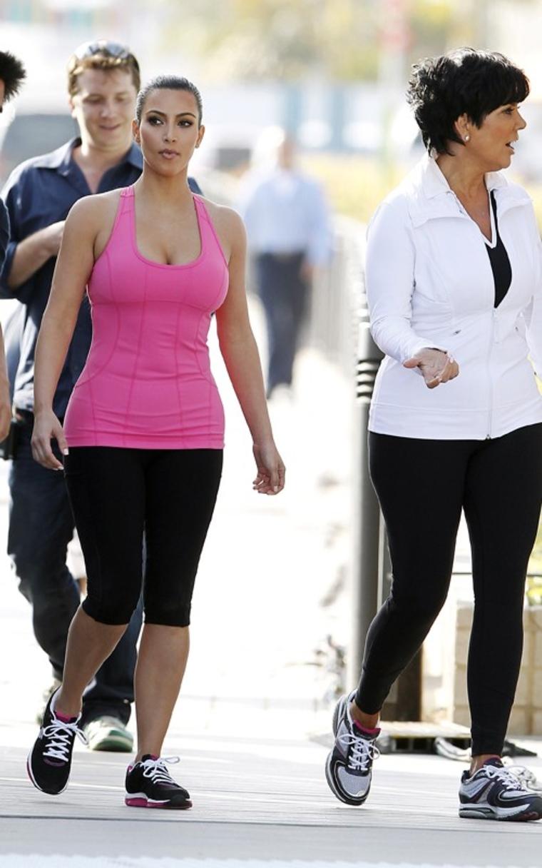 Kim kardashian workout clothes 2018