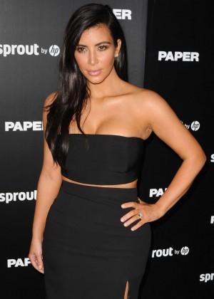 Kim Kardashian - Paper Magazine Break The Internet Issue Release in Miami
