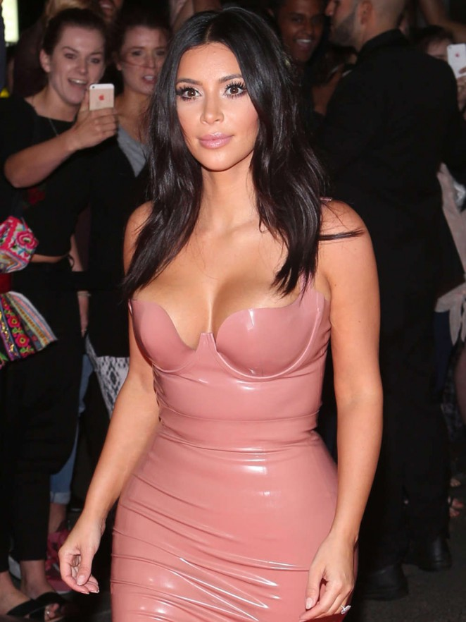Kim Kardashian - Promotes Her New Fragrance 'Fleur Fatale' in in Melbourne