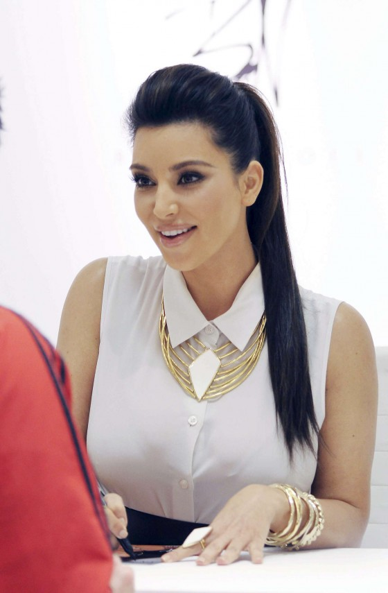 Kim Kardashian – promoting Belle Noel-03