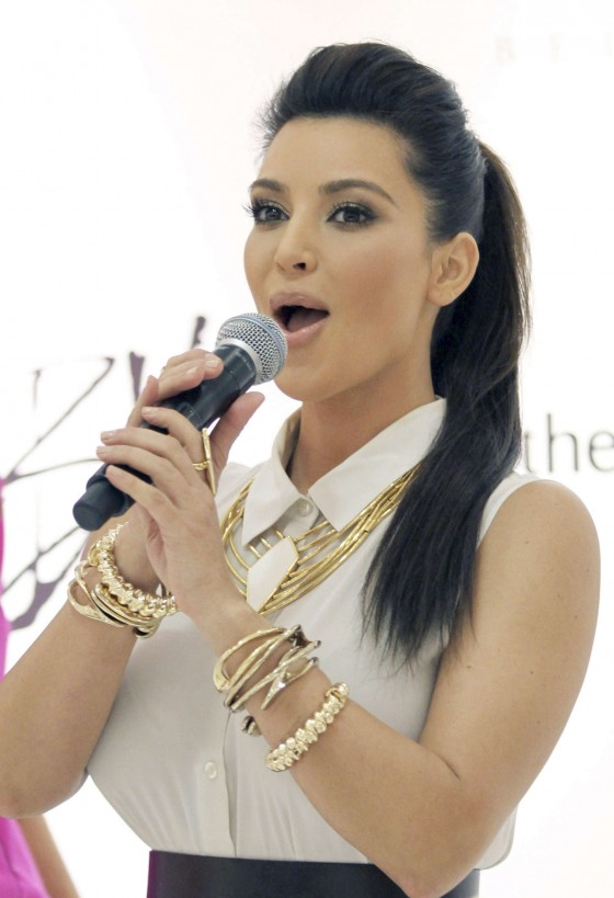 Kim Kardashian - promoting her Belle Noel Jewelry collection in Toronto