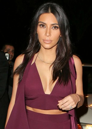 Kim Kardashian - Raises Toast for Elizabeth Taylor Foundation & World AIDS Day at The Abbey