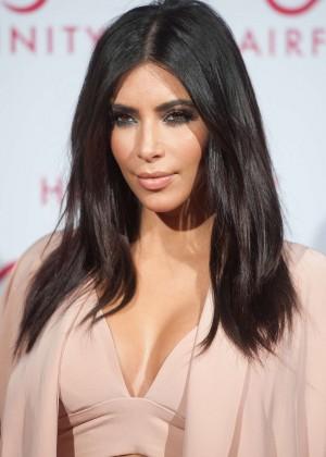 Kim Kardashian - Hairfinity Hair Vitamins Launch Party in London