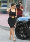 Kim Kardashian in Tight Skirt-06