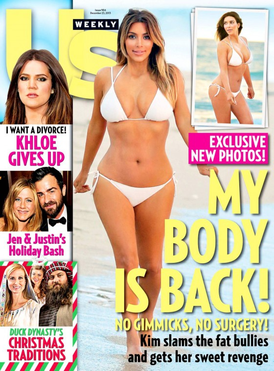 Kim Kardashian: Us Weekly Magazine Cover -01