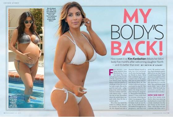 Kim Kardashian: US Weekly Magazine -01