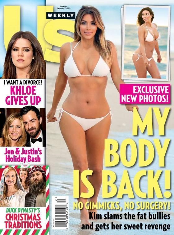 Kim Kardashian: US Weekly Magazine -03