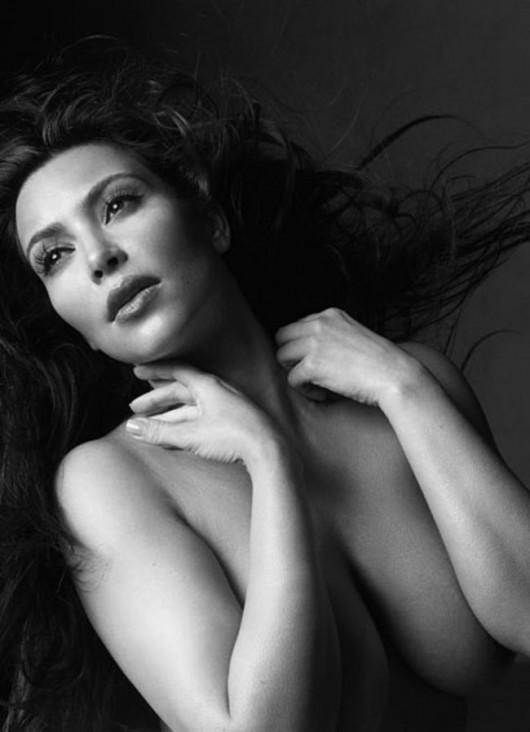 w kardashian Naked magazine kim