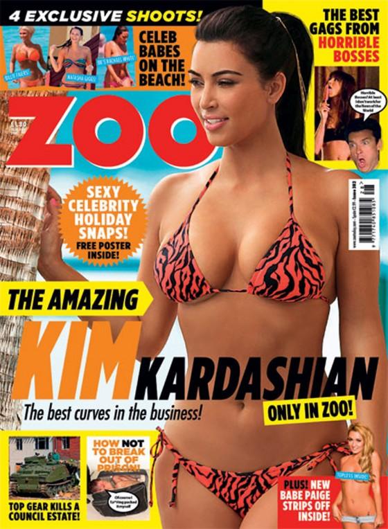 Kim kardashian zoo magazine cover august 2011 gotceleb
