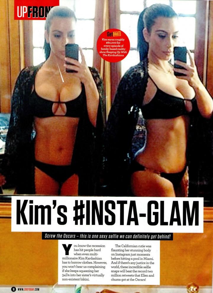 Kim Kardashian: Zoo Magazine -01