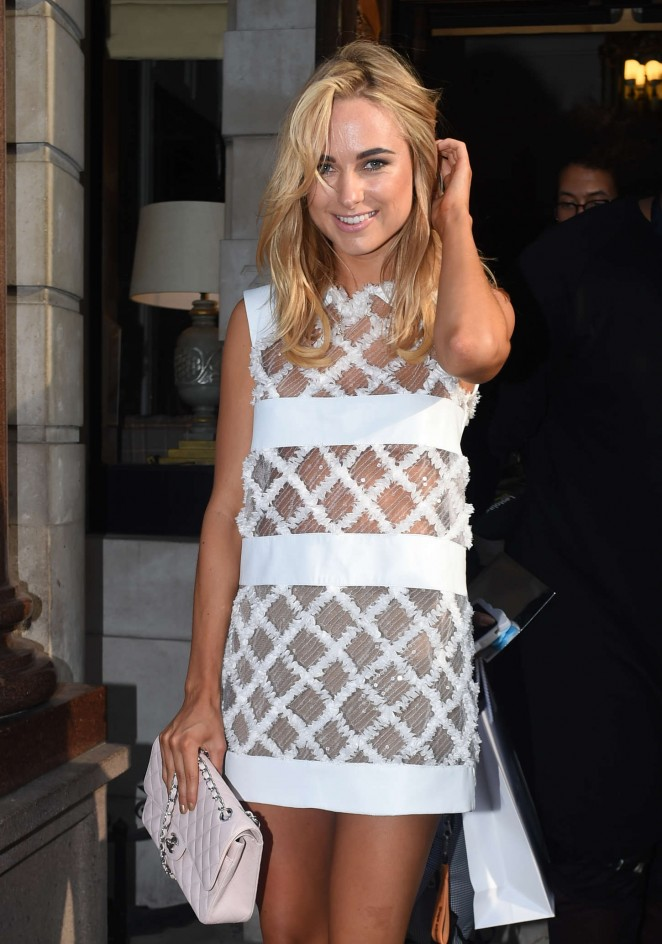 Kimberley Garner - Busardi Fashion Show in London