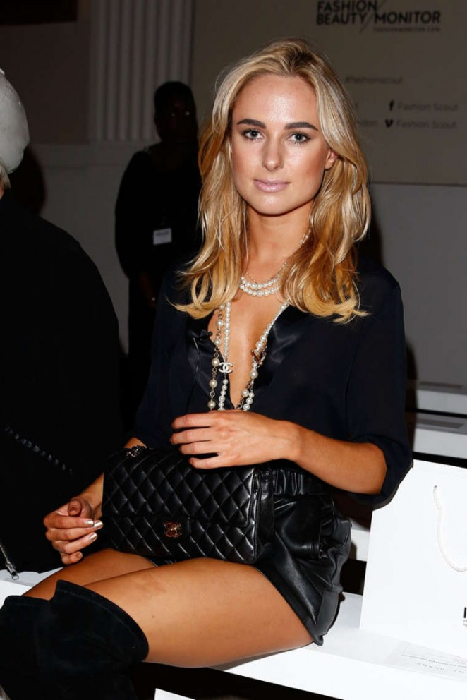 Kimberley Garner - Jamie Wei Huang Fashion Show in London