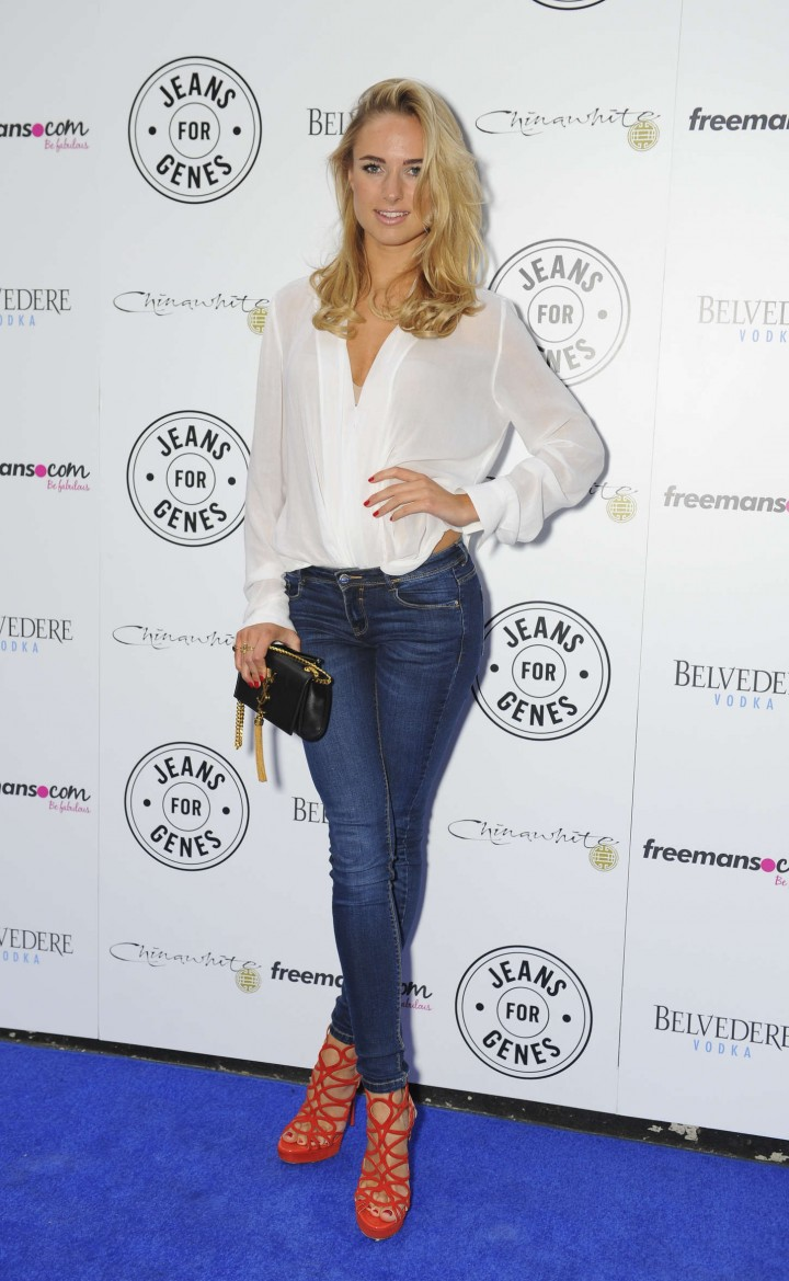 Kimberley Garner - 2014 Jeans for Genes Day in London
