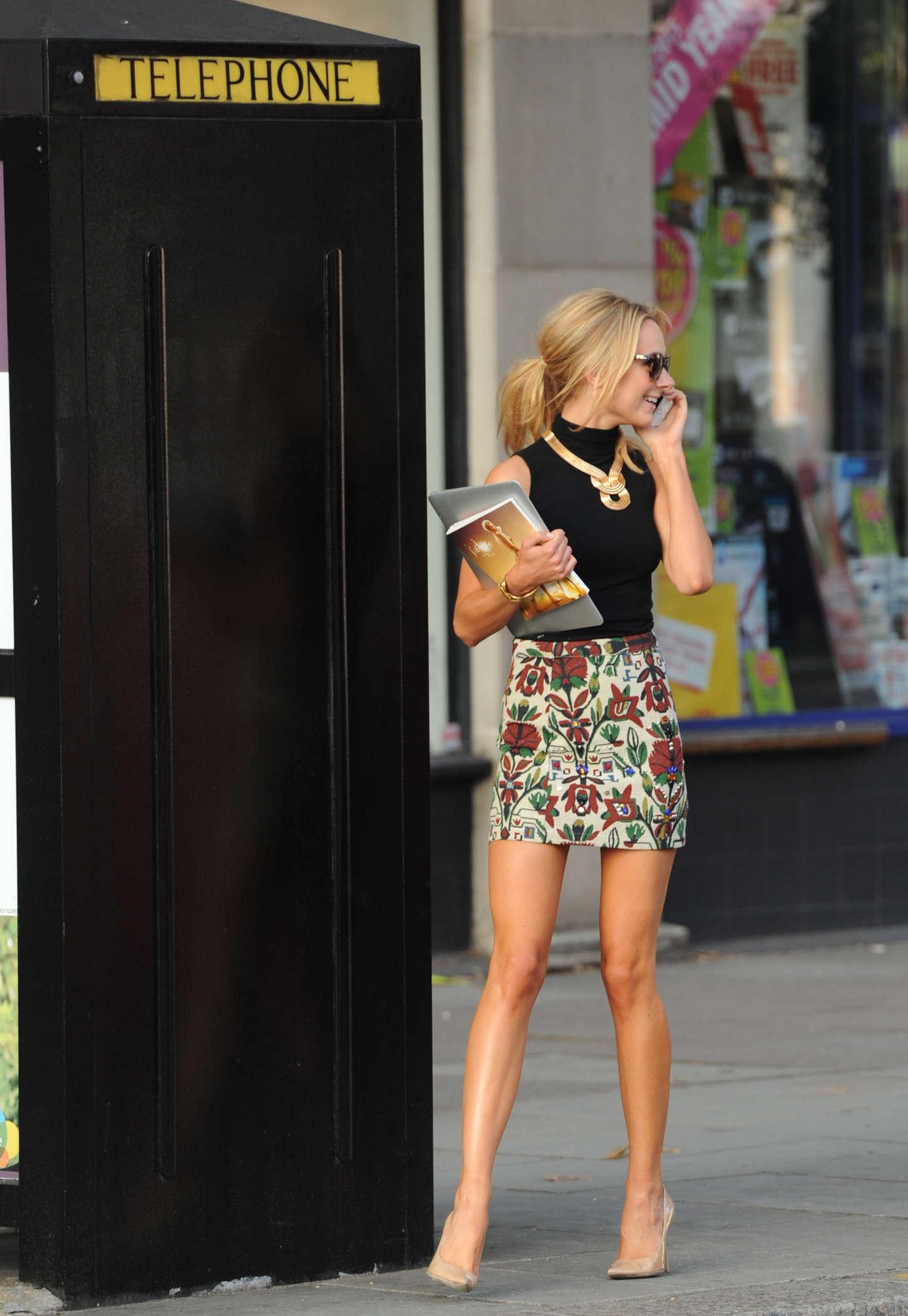 Kimberley Garner in Mini Skirt -06 - GotCeleb