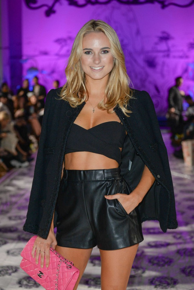 Kimberley Garner – Sorapol Catwalk Show SS 2015 London Fashion Week
