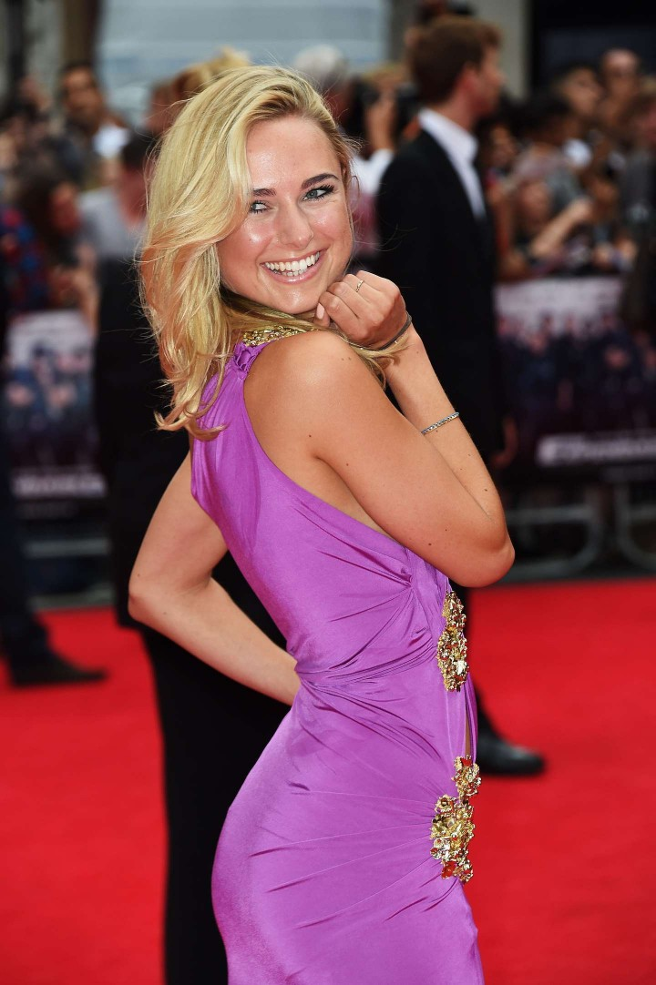 "Kimberley Garner - ""The Expendables 3"" premiere in London"