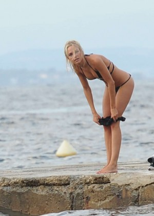 Kimberley Garner Bikini Workout: in Saint-Tropez -08