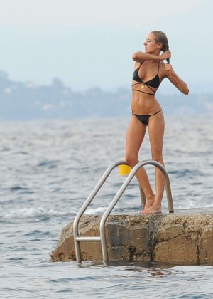 Kimberley Garner Bikini Workout: in Saint-Tropez -11