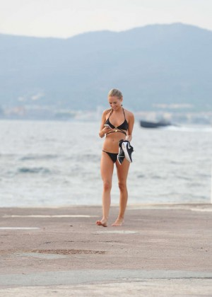 Kimberley Garner Bikini Workout: in Saint-Tropez -21