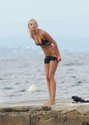 Kimberley Garner Bikini Workout: in Saint-Tropez -25