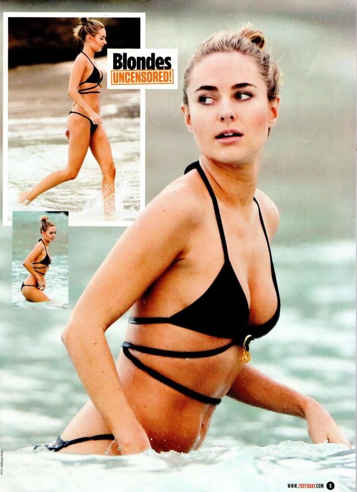 Kimberley Garner – ZOO Magazine (March 2014)
