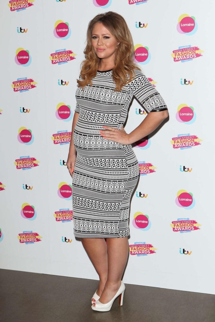 Kimberley Walsh - Lorraines High Street Fashion Awards -02