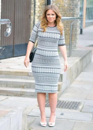 Kimberley Walsh - Lorraines High Street Fashion Awards -03