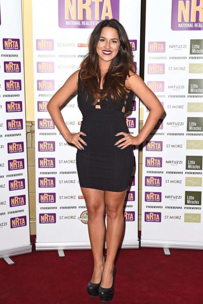 Kimberly Kisselovich at 2014 National Reality TV Awards in London