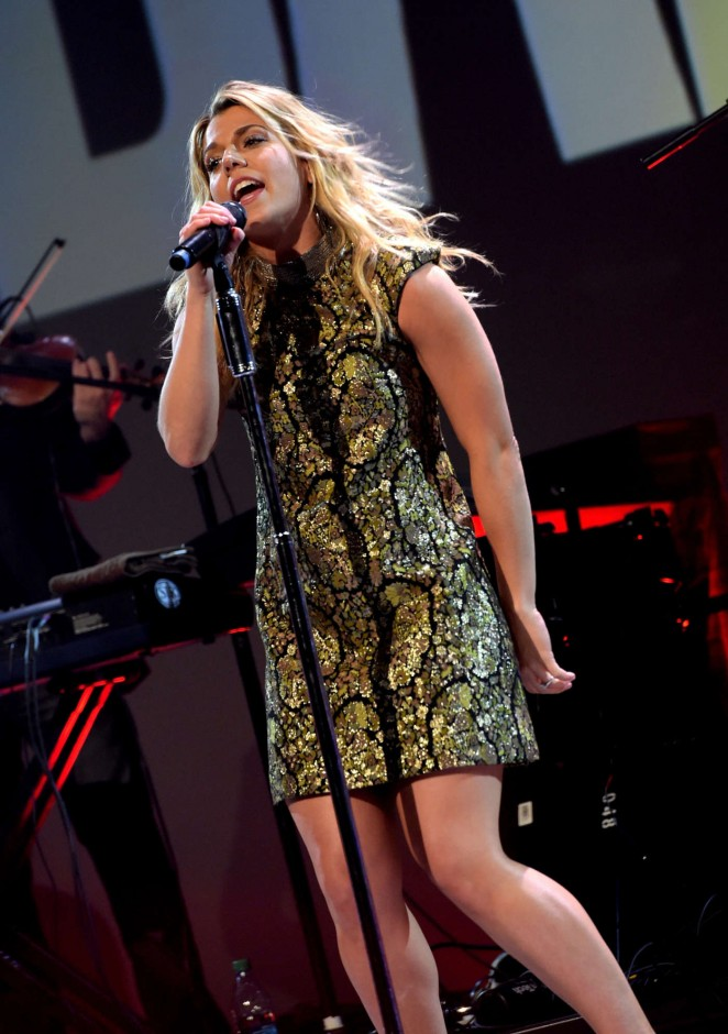 Kimberly Perry - Performing at 'Glen Campbell...I'll Be Me' Premiere in Nashville