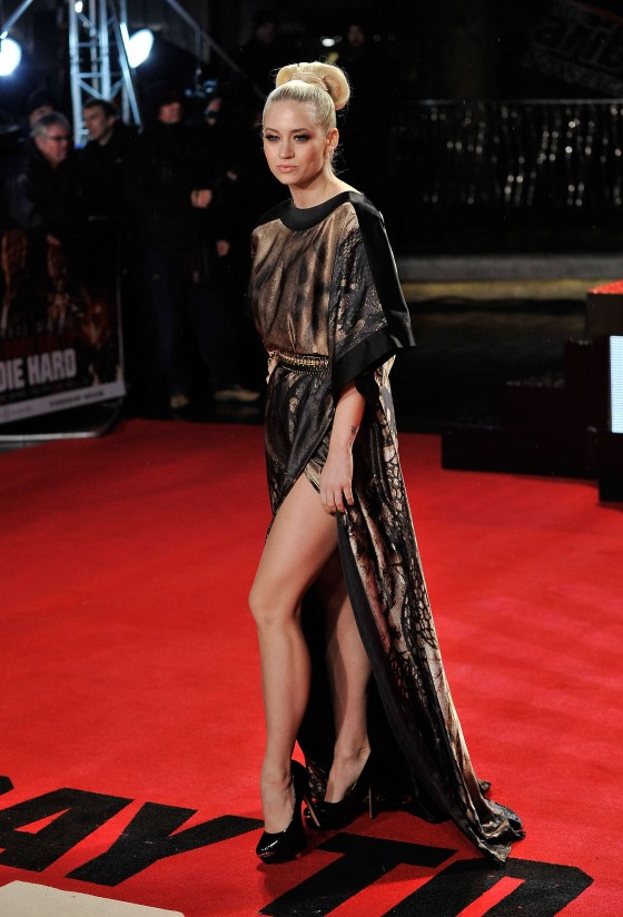 Kimberly Wyatt - A Good Day to Die Hard Premiere in London-02