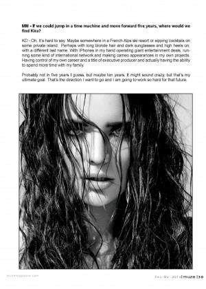 Kira Dikhtyar: Muze Magazine -11