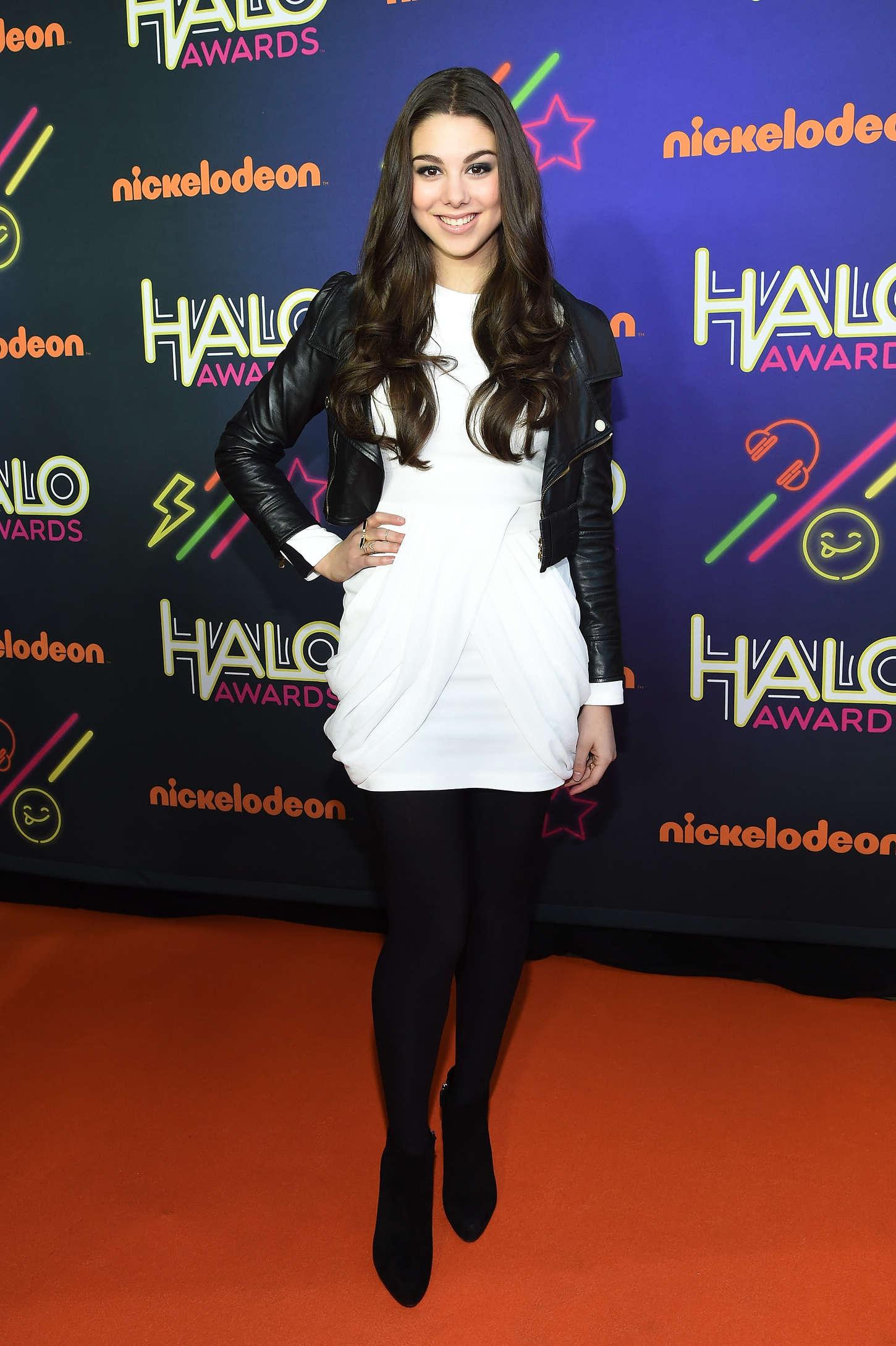 Kira Kosarin 6th Annual Nickelodeon Halo Awards In Nyc