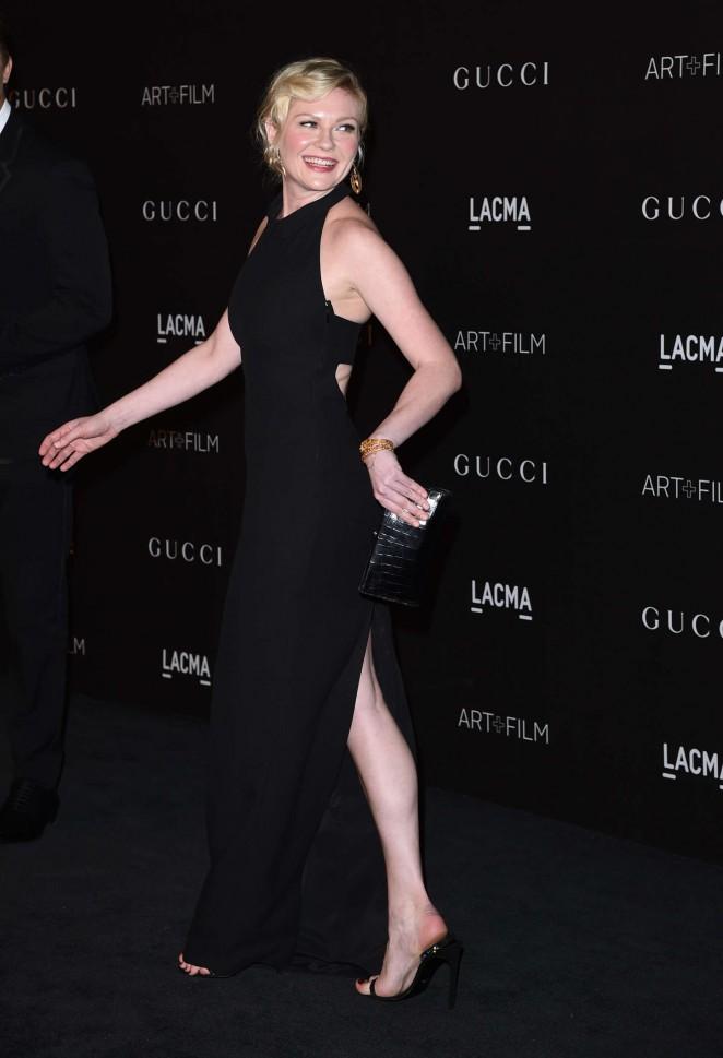 Kirsten Dunst - LACMA Art + Film Gala 2014 in LA