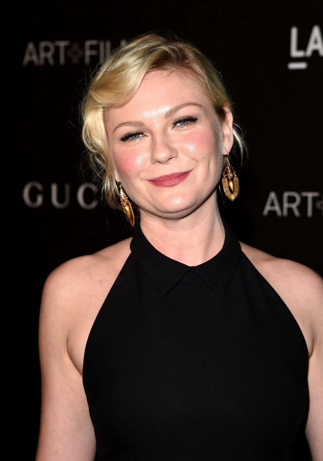 Kirsten Dunst: LACMA Art and Film Gala 2014 -05