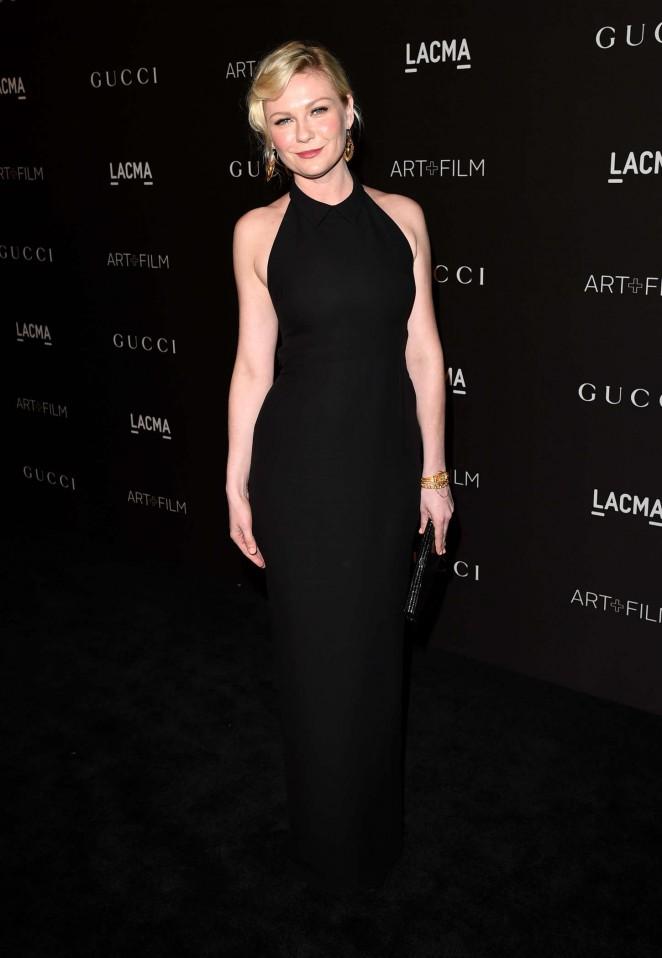 Kirsten Dunst: LACMA Art and Film Gala 2014 -10