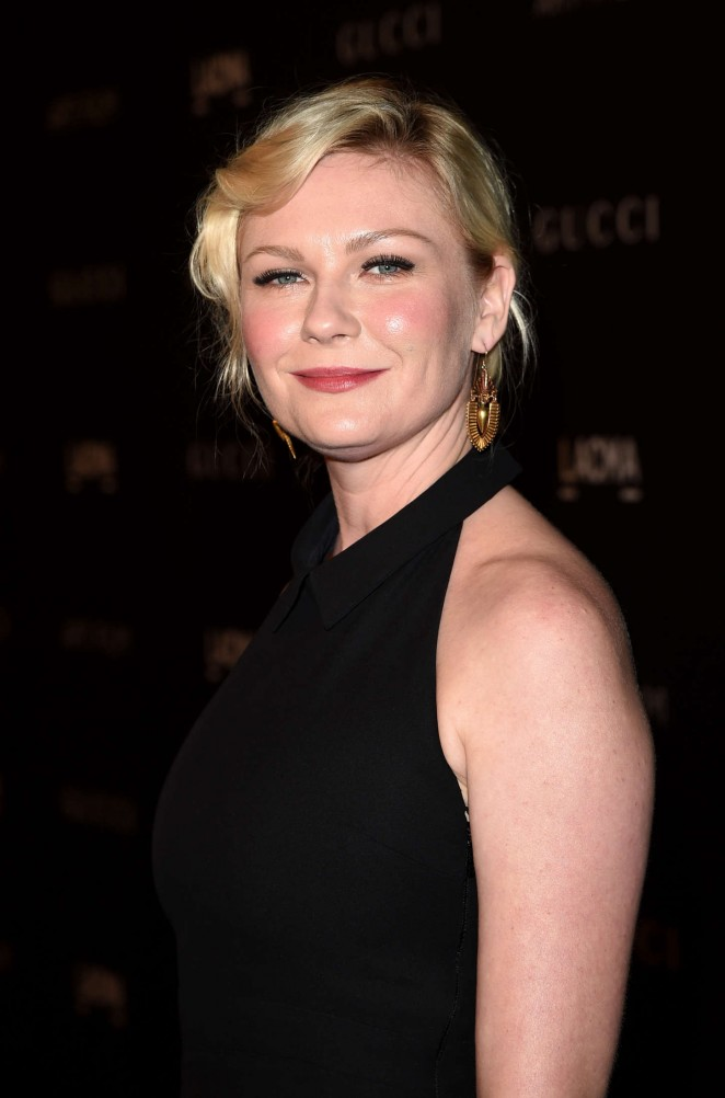 Kirsten Dunst: LACMA Art and Film Gala 2014 -12