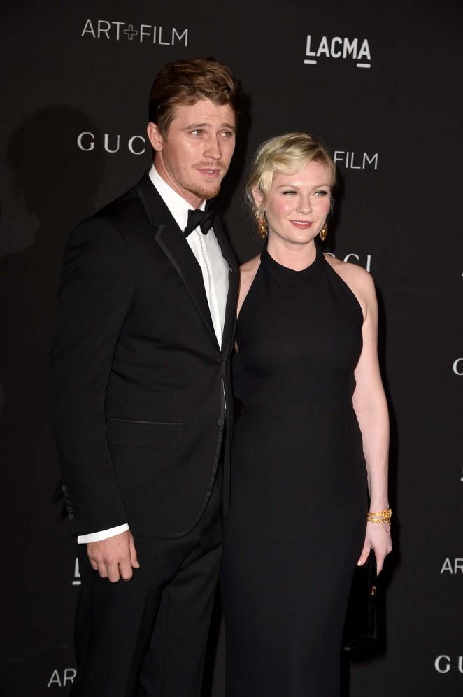 Kirsten Dunst: LACMA Art and Film Gala 2014 -15