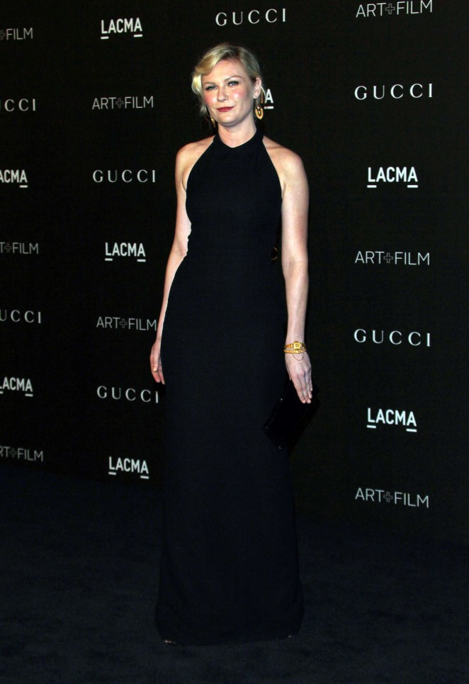 Kirsten Dunst: LACMA Art and Film Gala 2014 -17