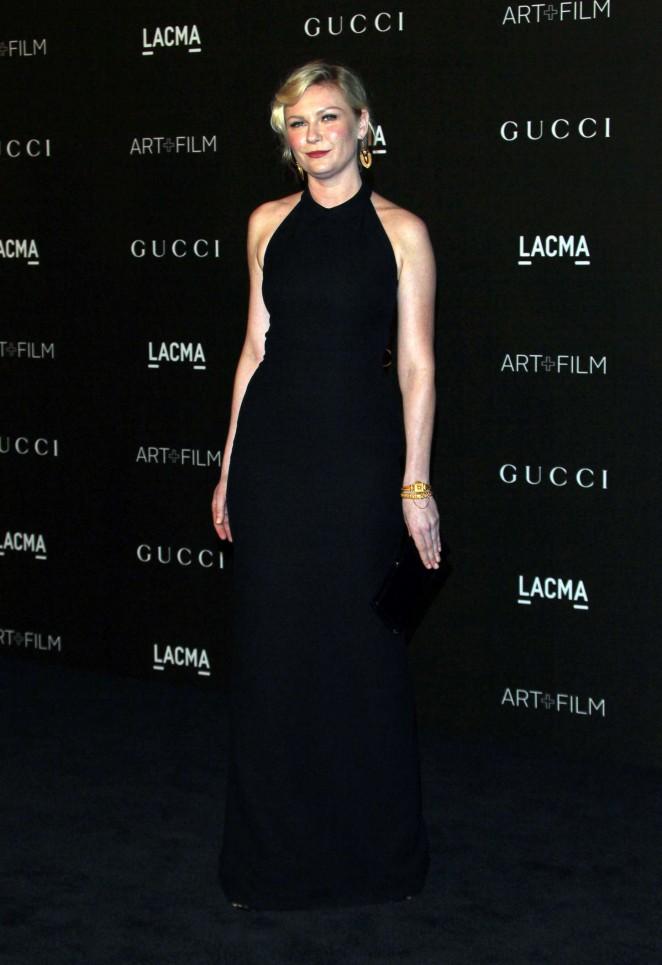 Kirsten Dunst: LACMA Art and Film Gala 2014 -17