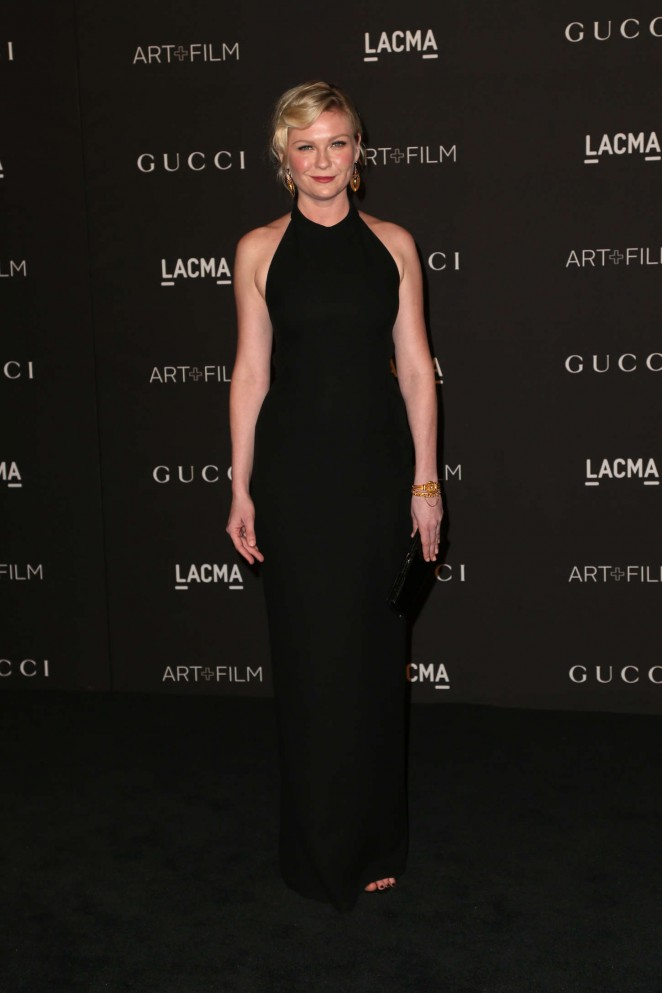 Kirsten Dunst: LACMA Art and Film Gala 2014 -18