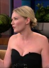 Kirsten Dunst cleavage candids on the Tonight Show With Jay Leno