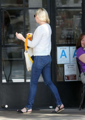 Kirsten Dunst in Jeans out in Studio City