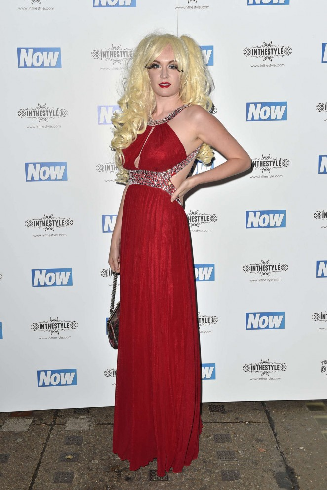 Kitty Brucknell - Now Christmas Party in London