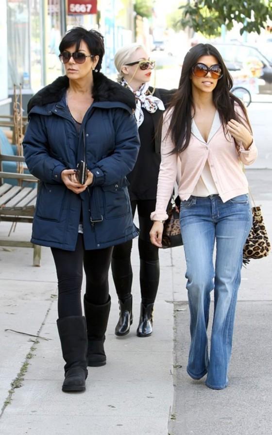 Kourtney Kardashian Studio City Candids
