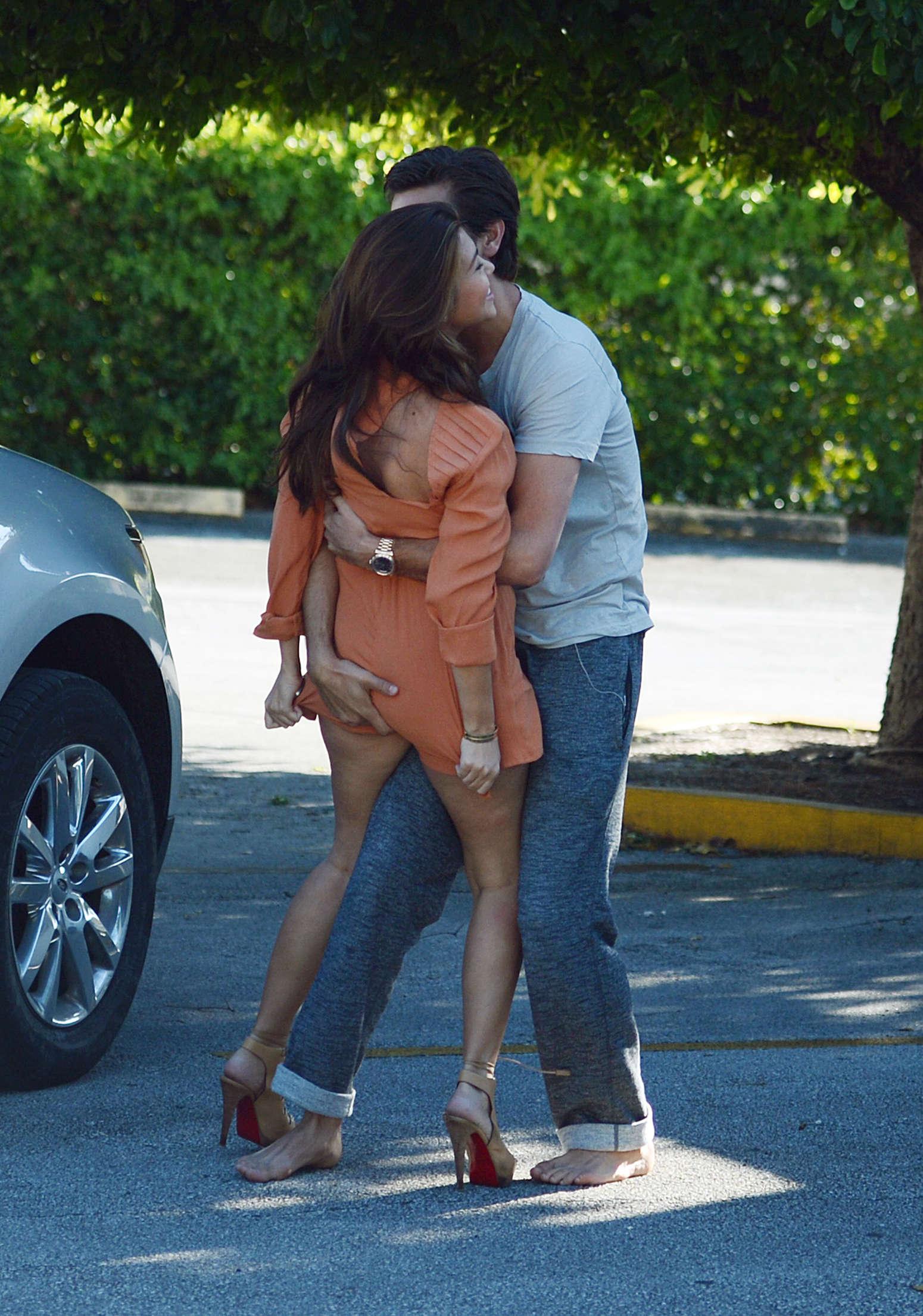Kourtney Kardashian with Scott Disick in Miami-10 | GotCeleb