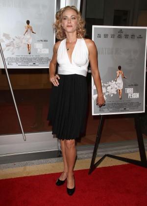 Kristanna Loken in black skirt -10